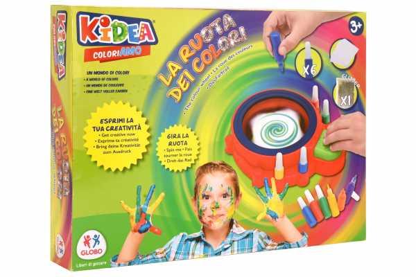 KIDEA-La Ruota Dei Colori, Multicolore, C.T. 03037