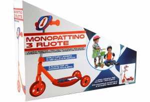 Globo Giocattoli Globo–37246estate In Acciaio E Plastica Scooter A 3ruote