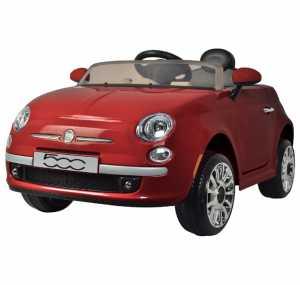 AUTO FIAT 500 ROSSA 12V 38955