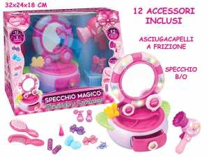 Teorema 64692 - Specchio Magico Con Accessori, Luci E Suoni