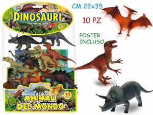 Teorema Giocattoli Dinosauri Con Poster,, 3.TE70710