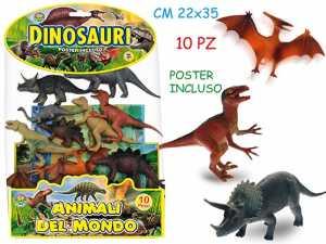 Teorema - GEO NATURE Animali Dinosauri 10pz Assortiti In Busta 70710