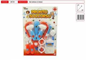Set SET DOTTORE PRONTO SOCCORSO - Toys Garden (26135)