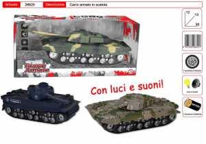 CARRO ARMATO IN SCATOLA LUCI E SUONI - Toys Garden (26625)