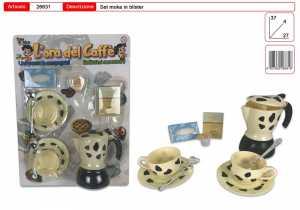Set CAFFE MOKA CAPUCCINO CON TAZZE - Toys Garden (26631)