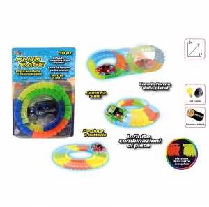 PISTA Set FLUO SNAKE TRACK - Toys Garden (26757)