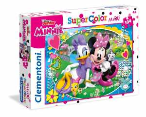 PUZZLE 104 Pezzi MAXI MINNIE HAPPY HELPER - Clementoni (23708)