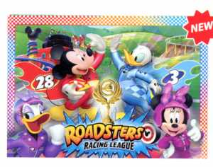 PUZZLE 104 Pezzi MAXI MICKEY ROADSTER RACERS - Clementoni (23715)