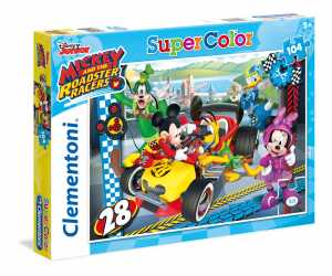 PUZZLE 104 Pezzi MICKEY ROADSTER RACERS - Clementoni (27984)