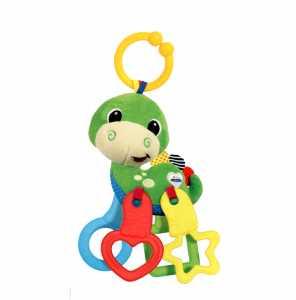 Baby Clementoni 17215 - Morbido Dinosauro Prime Attività