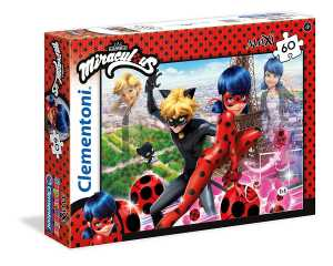 Clementoni 26427 - Puzzle Miraculous Ladybug