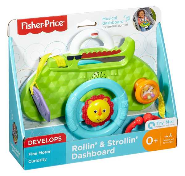 Fisher-Price- Cruscotto Piccolo Pilota, DYW53