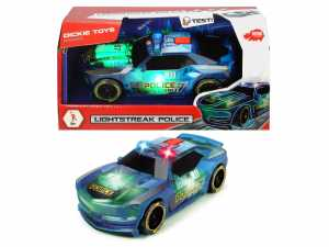 Dickie Toys- Lightstreak Police, 20 Cm, 203763001