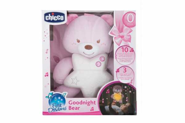 Chicco Gioco First Dreams Bear Panel, Rosa,00009156100000