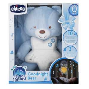 Chicco Gioco First Dreams Bear Panel, Azzurro, 00009156200000