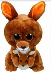 Ty Beanie Boos 28Cm Kipper Animale Bosco Peluches Giocattolo 441, Multicolore, 8421371600