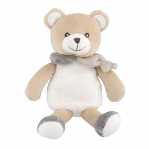 Chicco 00009617000000 -  Gioco Natural Orsetto Peluche, Neutro