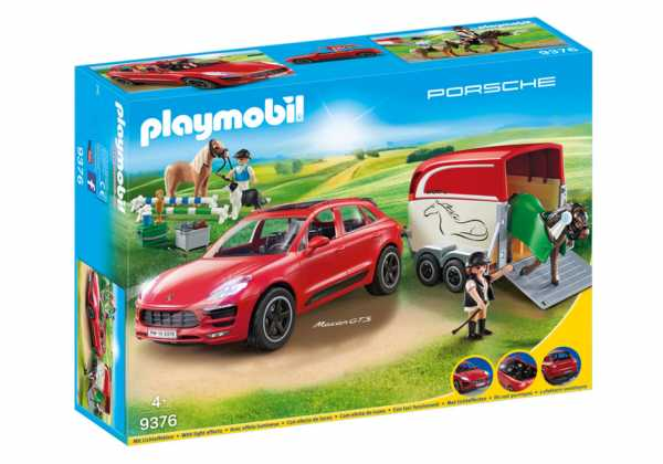 Playmobil Porsche Macan Gts, 9376
