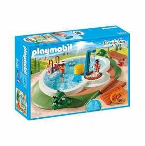 Playmobil Family Fun 9422 - Piscina, Dai 4 Anni