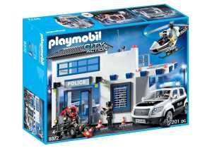 Playmobil - Centrale Della Polizia, 9372