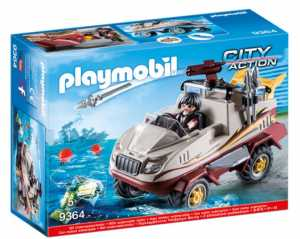 Playmobil - Auto Anfibia Dei Malviventi, 9364