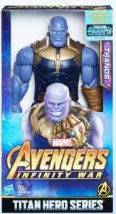 Hasbro Marvel Avengers - Infinity War Thanos Titan Hero Power FX, Personaggio 30 Cm, Action Figure, E0572EU4