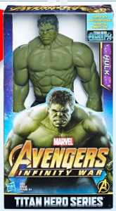 Hasbro Marvel Avengers E0571EU4 - Infinity War Hulk Titan Hero Power FX, Personaggio 30 Cm, Action Figure