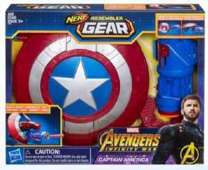 Hasbro Marvel Avengers - Blaster Assembler Gear Captain America, E0567EU4