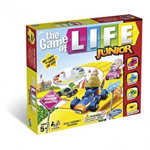 Hasbro Gaming - Il Gioco Della Vita Junior (Gioco In Scatola), B0654103