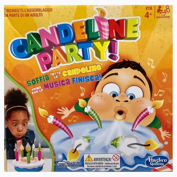 Hasbro Gaming - Candeline Party (Gioco In Scatola), E0887103