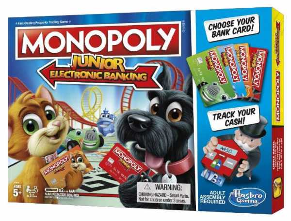 Monopoly - Junior Electronic Banking (Gioco In Scatola), E1842103