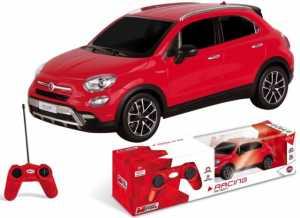 Mondo- Fiat 500 X Veicolo Radiocomandato Scala 1:24, Colore Giallo/Rosso, 63422