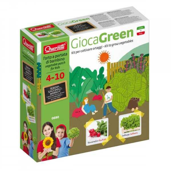 Quercetti - 0680 Gioca Green Ortaggi