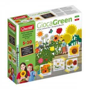 Quercetti - 0691 Gioca Green Fiori
