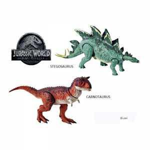 Mattel Jurassic World Stegosaurus Articolato Con Movimento