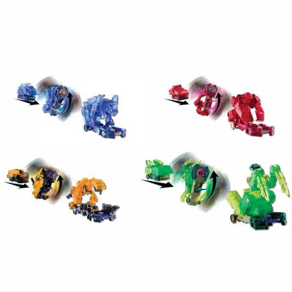 Rocco Giocattoli- Screechers Wild-Veicoli Trasformabili L2/A, 1 Pezzo, Colore Assortito, EU683120-3