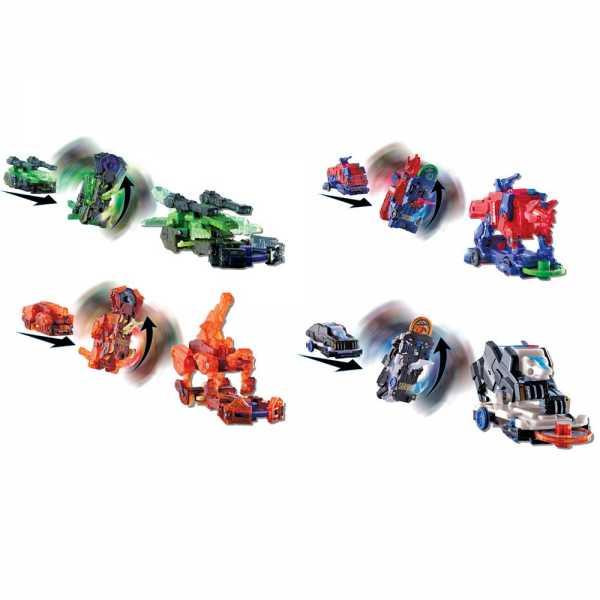 Rocco Giocattoli Screechers Wild-Veicoli Trasformabili L2/B, 1 Pezzo, Colore Assortito, EU683124-7