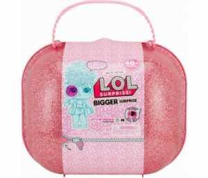 L.O.L. Surprise - Bigger Surprise Briefcase Con Dolls Da Collezione E Oltre 60 Sorprese (Giochi Preziosi LLU46000)
