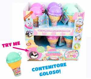 Giochi Preziosi - Smooshy Mushy Core Creamery, Animaletti Morbidi E Profumati, Con Accessori, Modelli Assortiti