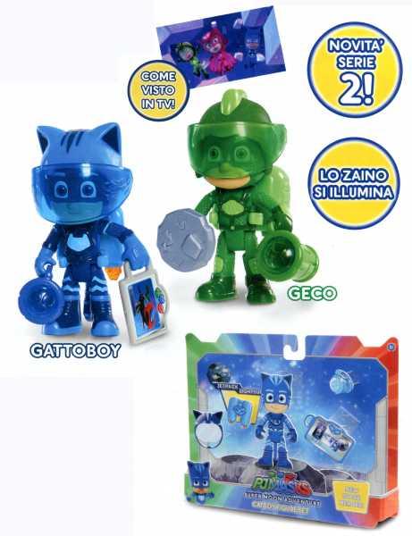 Giochi Preziosi- PJ Masks PIGIAMINI Personaggio Super Moon, PJU03000