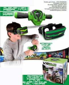 Giochi Preziosi - VR Real Feel Motocross Con Visore E Manubrio