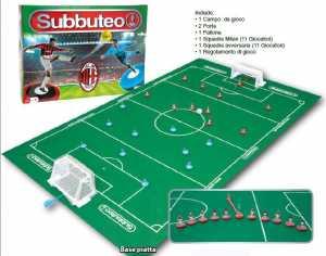 Giochi Preziosi SUBBUTEO MILAN Con 2 Squadre