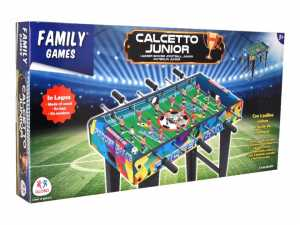 Globo - Family Games - Calcetto Junior Con 3 Aste E 2  Palline Incluse
