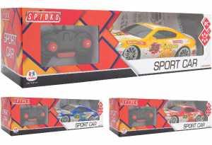 Globo, R/C Racing Car 7 Func. W/Light Sc. 1 R Corsa 7Funz. C/Luci Sc1:16 27Mhz 3Col. Mezzi Giocattolo Auto, Multicolore, 8014966390015