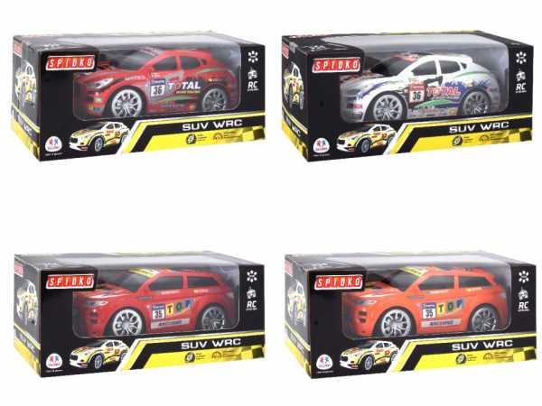 Globo- R/C Racing Car 7 Fun W/Light SC. 1:16 27 MHz 2M 2C (39002), Multicolore (1)