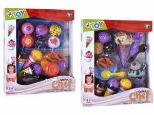 Globo- Cupcake/Icecream Set 2 Ass (39129), Multicolore (1)