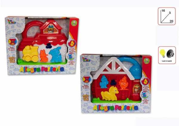PIANOLA LUCI E SUONI CM 16X20 - Toys Garden (26404)