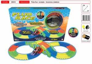 Garden Toys LTD Fluo Race Snake Pista Snodata E Fluorescente