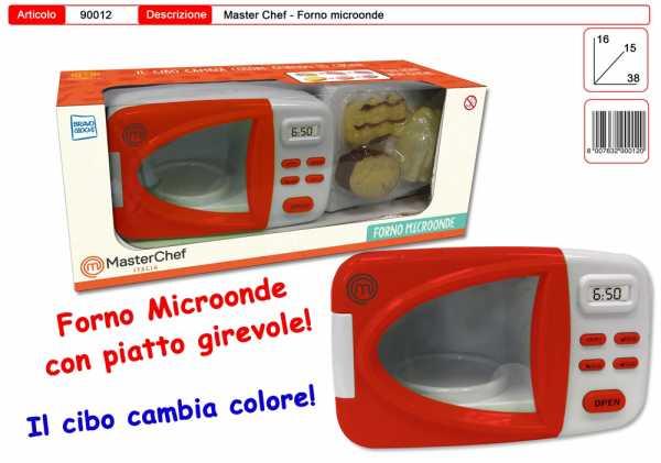 TOYS GARDEN MasterChef Forno MICROONDE Cibo Cambia Colore