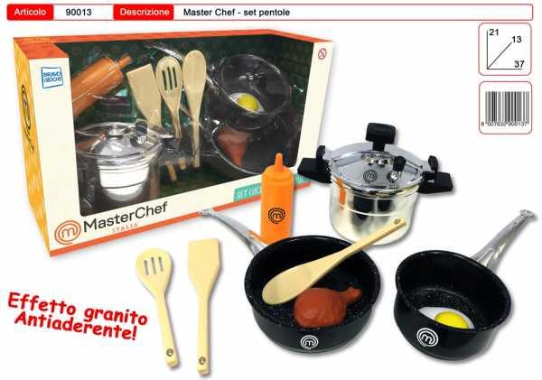 CUCINA MASTERCHEF PENTOLE GRANITO CM 21X37 - Toys Garden (90013)